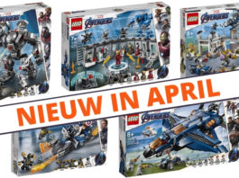LEGO Marvel Avengers sets verkrijgbaar