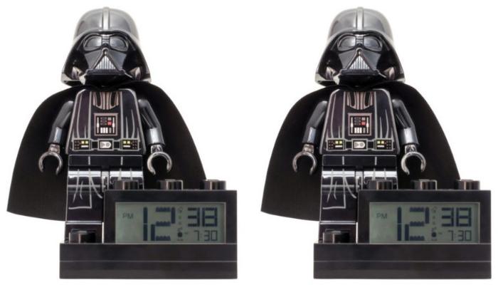 LEGO Star Wars 20th Anniversary Darth Vader Alarm Clock