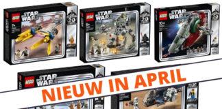 LEGO Star Wars 20th Anniversary sets verkrijgbaar