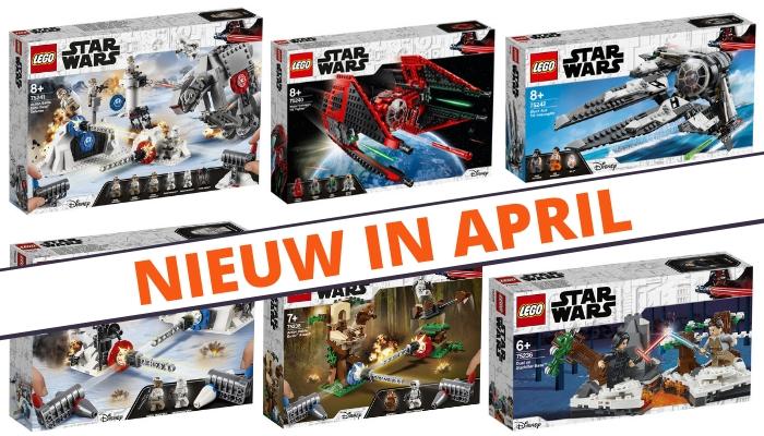 Nieuwe LEGO Star Wars sets verkrijgbaar