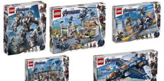 Visuals LEGO Avengers_ Endgame sets