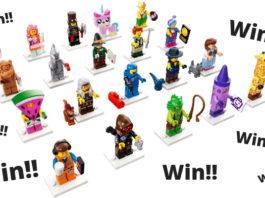 Win een volledige serie LEGO Movie 2 Minifigures