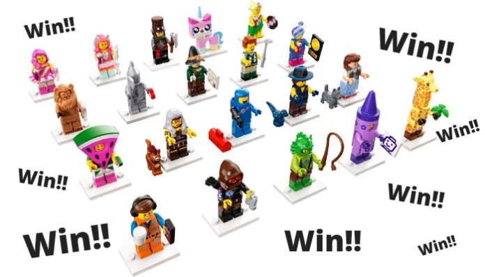 Win een volledige serie LEGO Movie 2 Minifigures