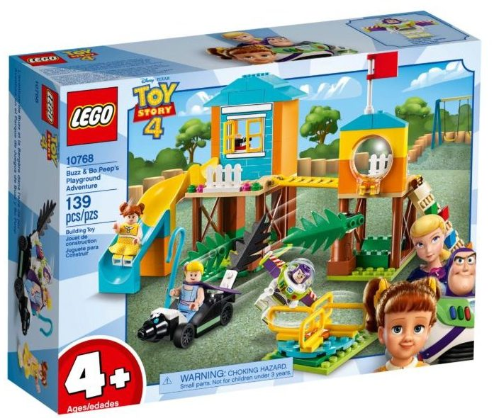 LEGO Toy Story 4 10768 Buzz & Bo Peep's Adventure Playground