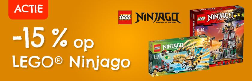 LEGO Ninjago korting