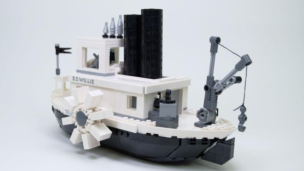 LEGO Ideas 21317 achteraanzicht