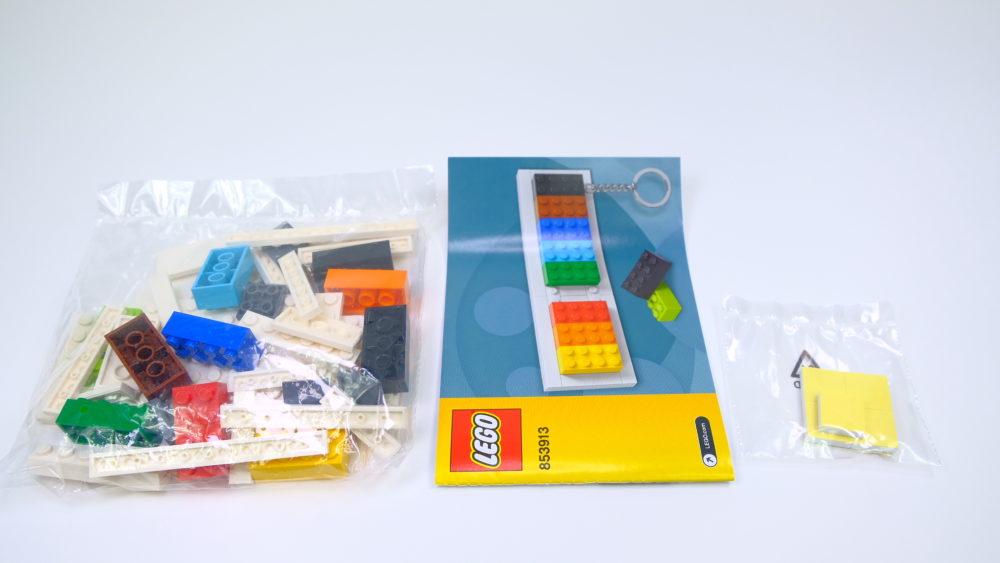 LEGO 853913 Key Hanger inhoud