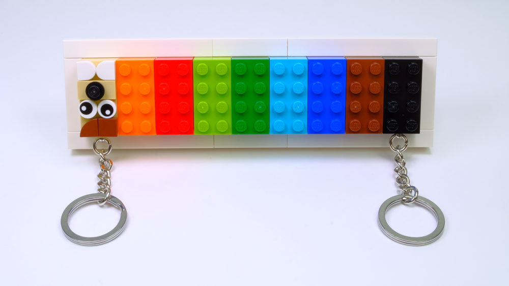 LEGO 853913 Key Hanger & LEGO 853902 Key Chain