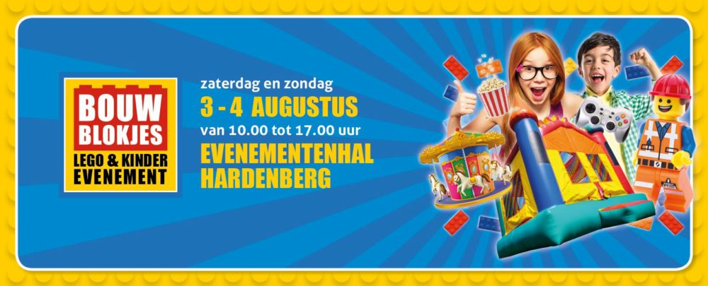BOUWBLOKJES Hardenberg 2019 zomereditie