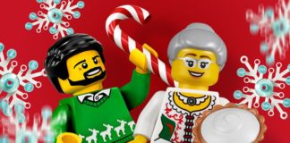 Christmas lunch for fans in LEGO House