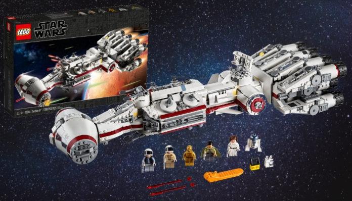 Aankondiging LEGO Star Wars 75244 Tantive IV