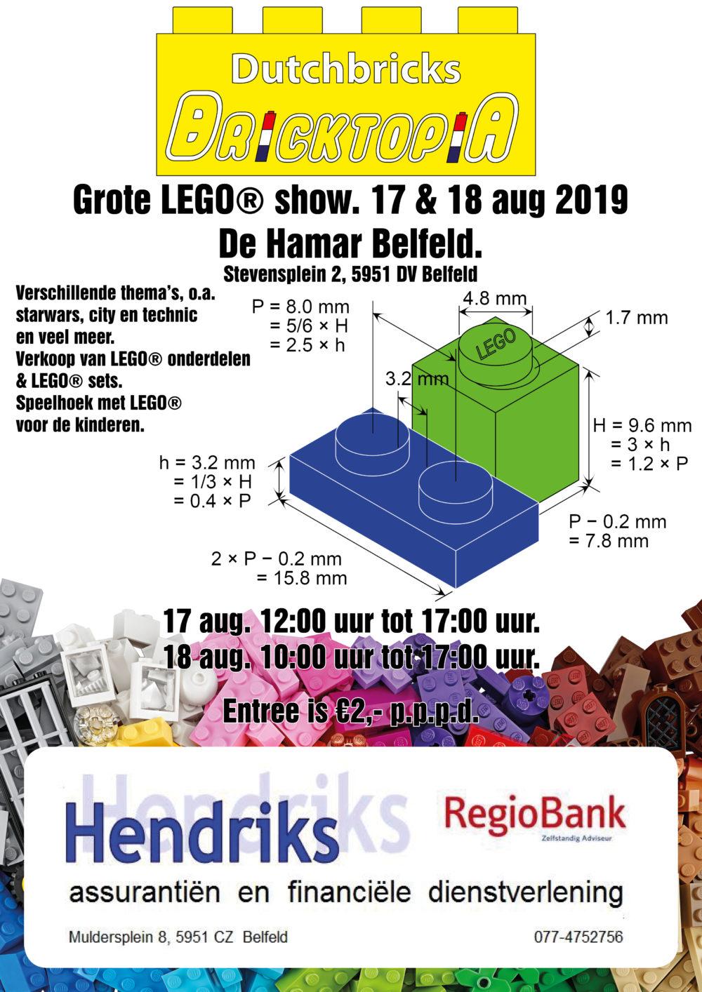 Bricktopia Belfeld 2019