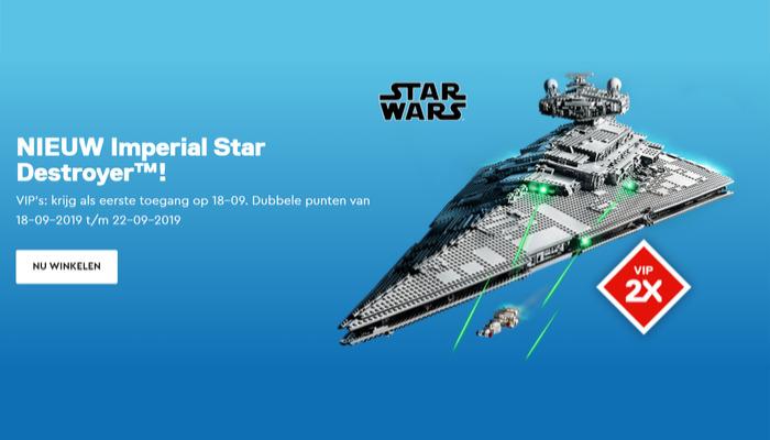 Dubbele VIP punten LEGO Star Wars 75252