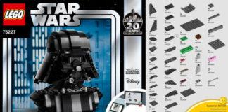 Instructies LEGO Star Wars Darth Vader Bust