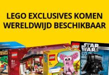 LEGO EXCLUSIVES WORDEN WERELDWIJD BESCHIKBAAR