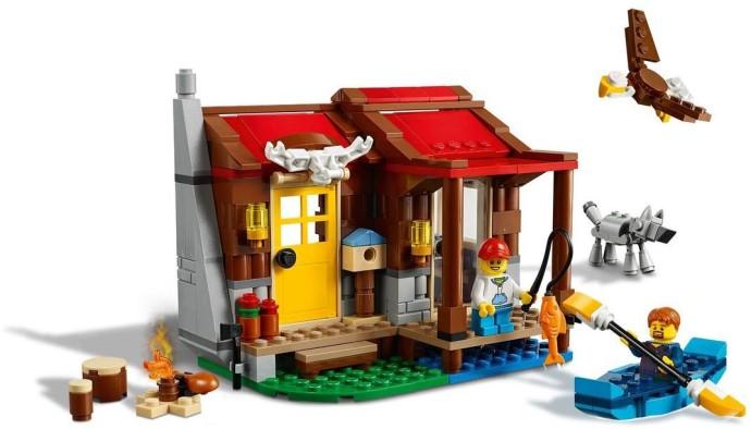 LEGO Creator 31068 Wildernis Hut (1)