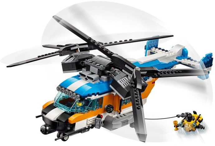 LEGO Creator 31096 Double Rotor Helicopter