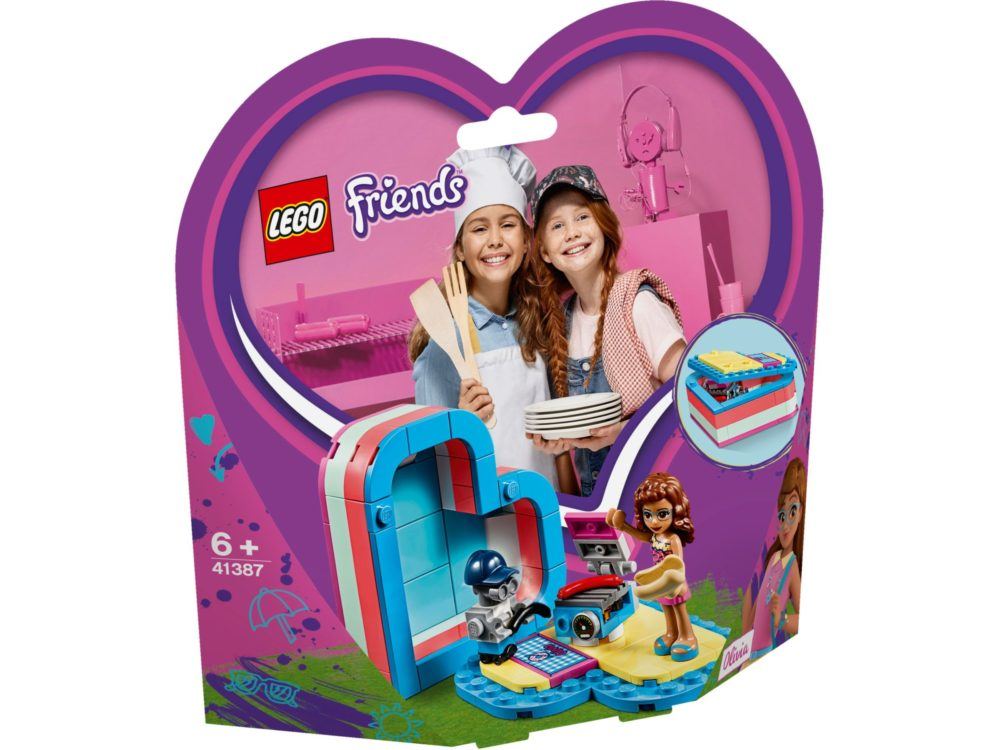 LEGO Friends 41387 Olivia's Summer Box