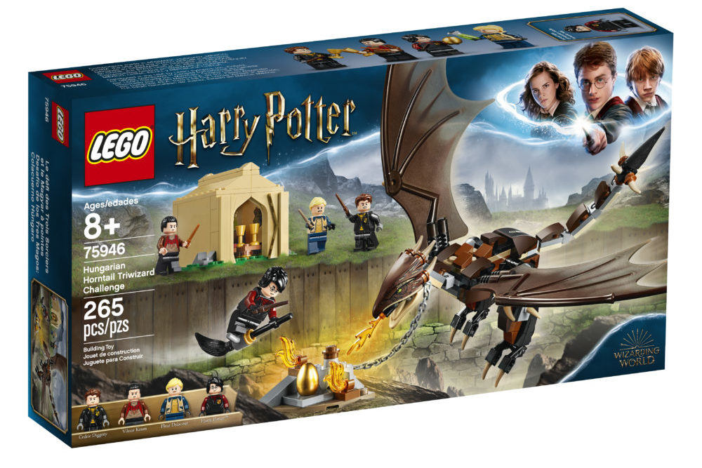 LEGO Harry Potter 75946 Hungarian Horntail Triwizard Challenge (1)