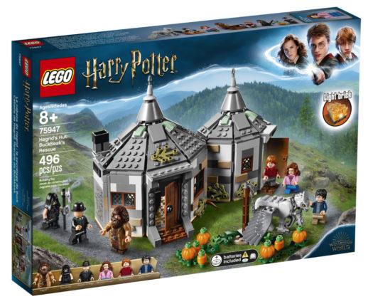 LEGO Harry Potter 75947Hagrid's Hut (1)