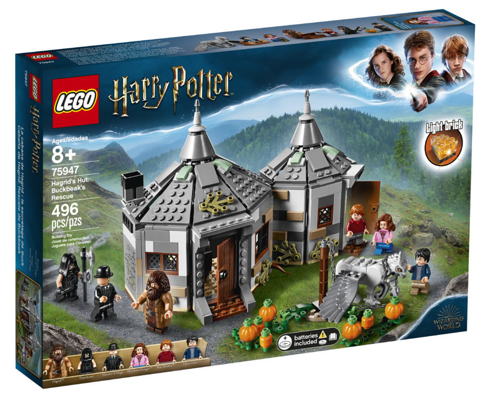 LEGO Harry Potter 75947 Hagrid's Hut (1)