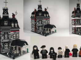 LEGO Ideas Addams Family Mansion Modular