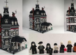 LEGO Ideas Addams Family Mansion Modular