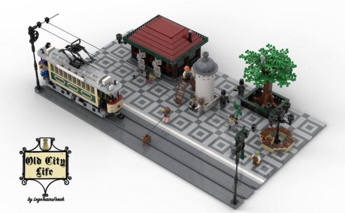 LEGO Ideas Old City Life
