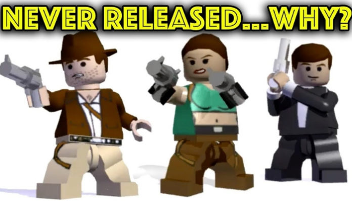 LEGO James Bond en Tomb Raider games