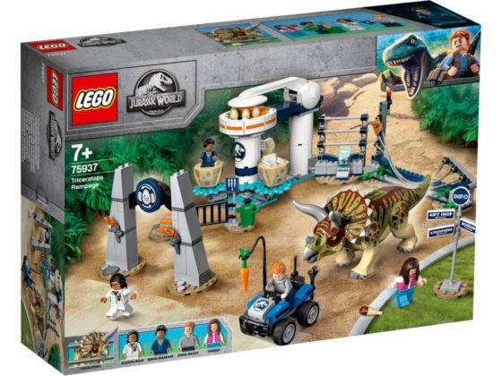 LEGO Jurassic World 75937 Triceratops Rampage