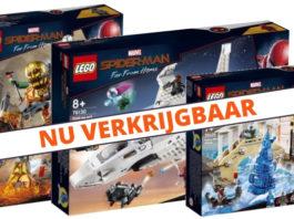 LEGO Marvel Spider-man Far From Home sets verkrijgbaar