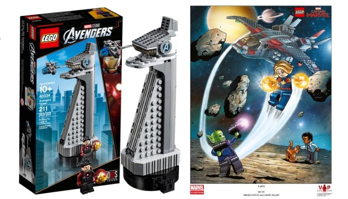 LEGO Marvel promoties