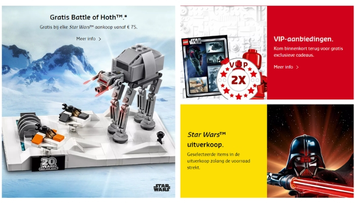 LEGO May the 4th promoties 2019