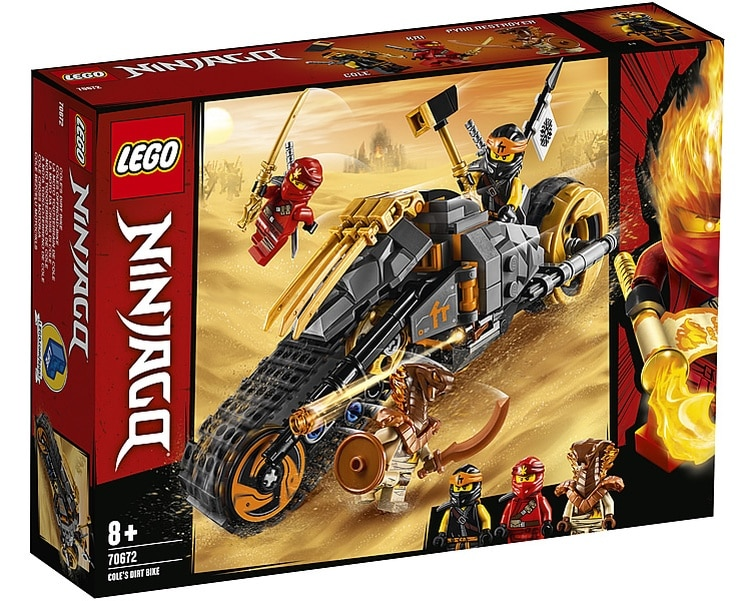 LEGO Ninjago 70672 Cole's Dirt Bike