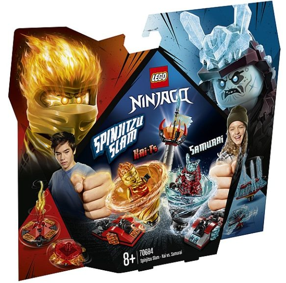 LEGO Ninjago 70684 Spinjitzu Slam - Kai vs Samurai
