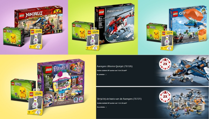 LEGO Promoties 2019