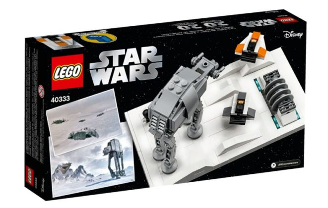 LEGO Star Wars 40333 Battle of Hoth