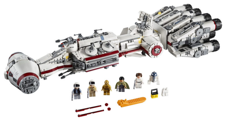 LEGO Star Wars 75244 - volledig model