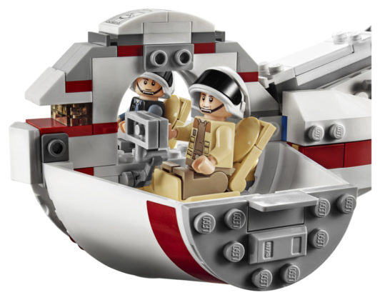 LEGO Star Wars 75244 - cockpit