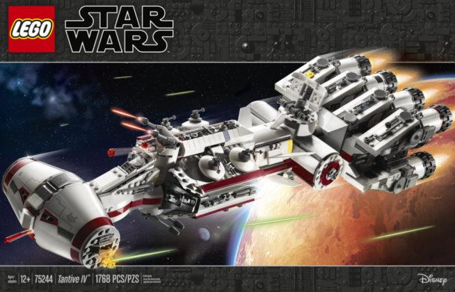 LEGO Star Wars 75244 - Doos