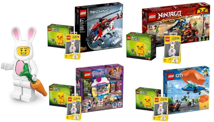 LEGO paasbundels beschikbaar