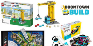 Nieuwe LEGO Education en LEGO FIRST sets onthuld