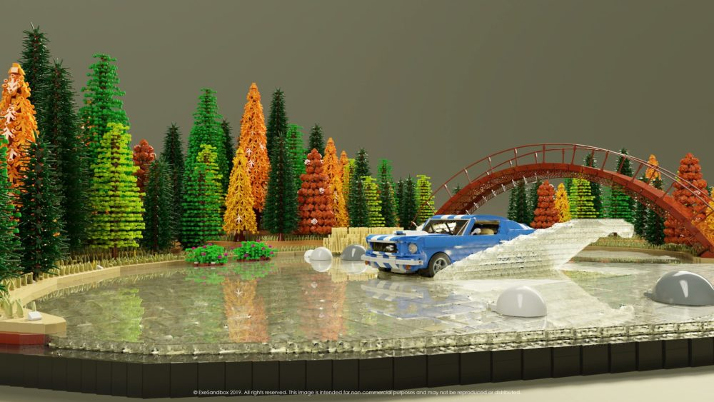 LEGO Nothing Like a Ford on a Lake