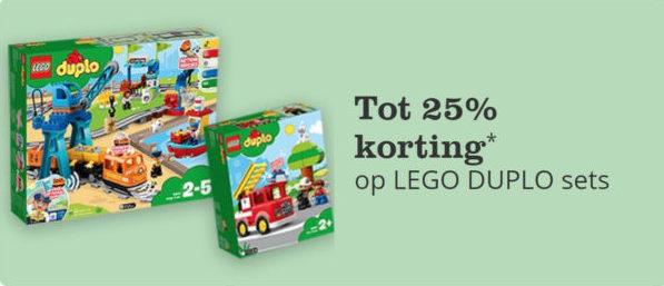 Korting op LEGO DUPLO