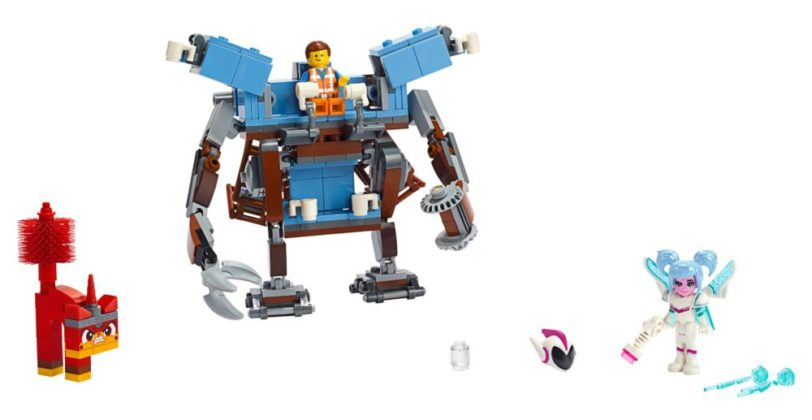 The LEGO Movie 2 70842 Emmet's Triple-Decker Couch Mech