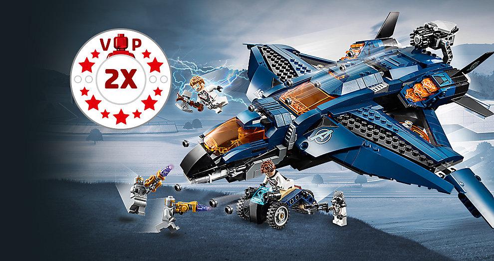 Dubbele VIP punten LEGO Marvel