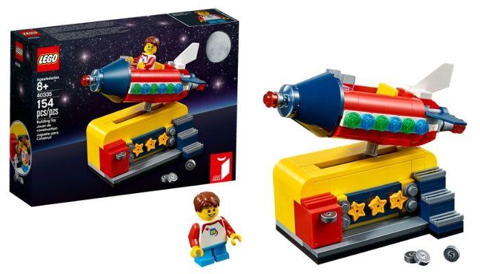 Visuals LEGO 40335 Space Rocket Ride