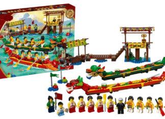 Visuals LEGO 80103 Dragon boat Race