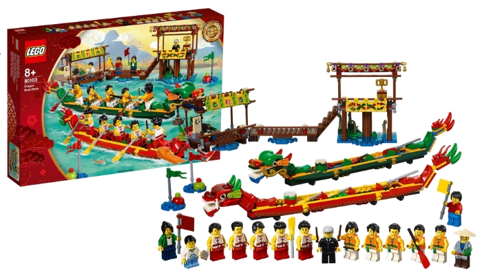 Visuals LEGO 80103 Dragon boat Race