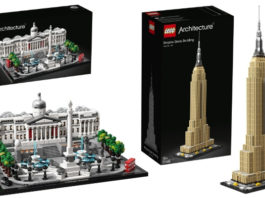 Visuals LEGO Architecture sets zomer 2019